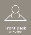 Whale Wharf front desk services